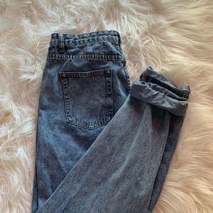 Acid wash mom jeans from BooHoo